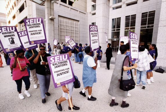 (29313) Local 82, Justice for Janitors Demonstration, Baltimore, Maryland, 2001