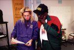 (29319) Anna Burger at the Local 500 Precinct Walk, Montgomery County, Maryland, 1998
