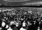 (29328) Attendees, Rally for Jobs Now, Robert F. Kennedy Stadium, Washington, D.C., 1975