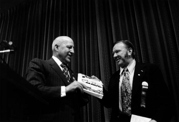 (29356) George Hardy, Richard Cordtz, 15th General Convention, San Francisco, California, 1972