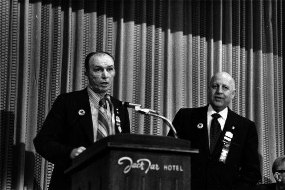 (29361) Thomas Donahue, George Hardy, 15th General Convention, San Francisco, California, 1972