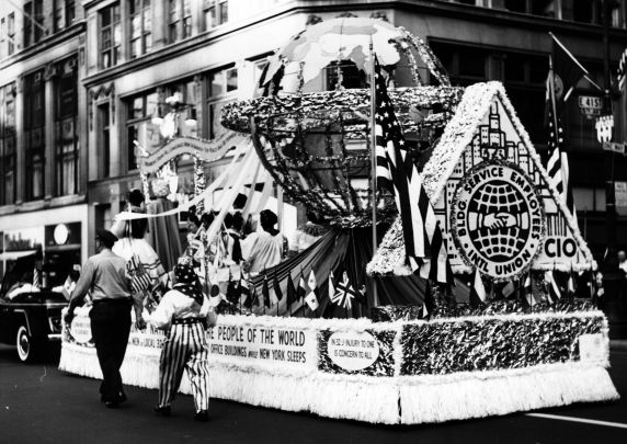 (29366) Building Service Employees International Union, Labor Day Parade, New York City, 1960