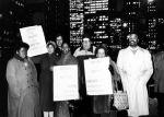 (29403) Joint Council 1 Demonstrators, Chicago Tribune Boycott, Chicago, Illinois, 1985