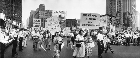 (2942) Parades, Labor Day, Detroit, 1961
