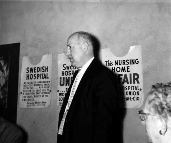 (29422) George Hardy, Washington State Council, Seattle, Washington, 1960