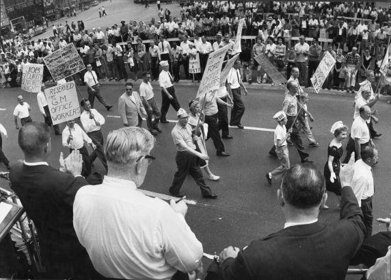 (2944) Parades, Labor Day, Detroit, 1961
