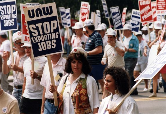 "(29440) ""Stop Exporting Jobs,"" Solidarity Day, Washington, D.C., 1991"