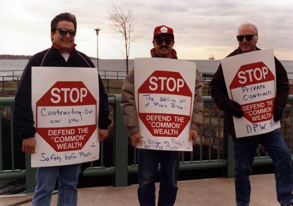 (29441) Local 285, Privatization Demonstration, 1992
