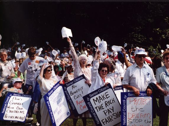 (29443) National Council of Senior Citizens, Social Security, Demonstration, 1998