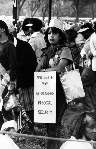 (29444) SEIU Local 144, Solidarity Day, Washington, D.C., 1981