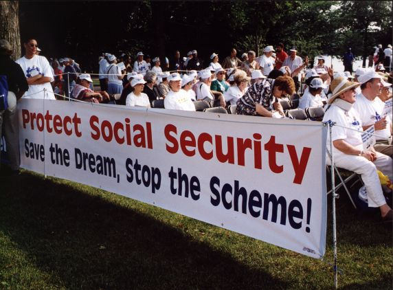 (29446) National Council of Senior Citizens, Social Security, Demonstration, 1998