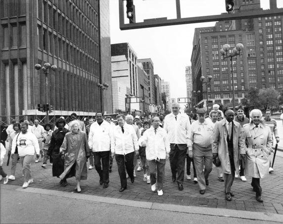 (2945) Parades, Labor Day, Detroit, 1988