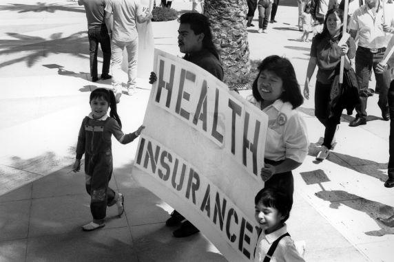 (29464) Justice For Janitors, Vigil, Los Angeles, California