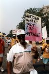"""(29473) """"National Health Care For Everyone,"""" Solidarity Day, Washington, D.C., 1991"""