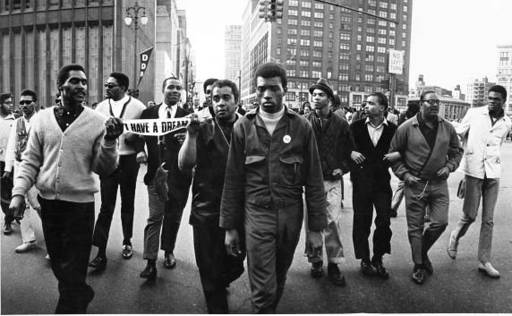 (2947) Demonstration, Civil Rights, Poor People's Campaign, Detroit, 1968