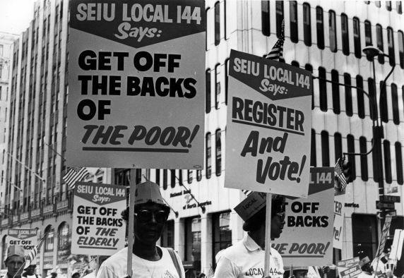 (29483) Local 144, Labor Day Parade, New York, New York, 1982