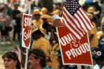 """(29489) """"Union and Proud,"""" Solidarity Day, Washington, D.C., 1991"""