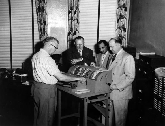 (29506) Jack Depo, George Luke, William McFetridge, George Hardy, 1953