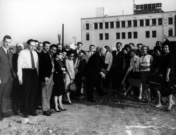 (29508) Local 399 Groundbreaking, George Hardy, 1964.