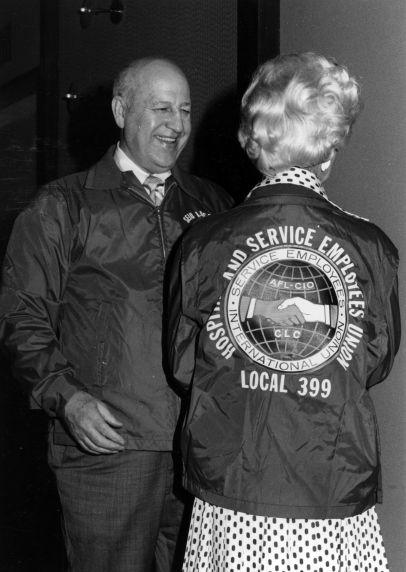 (29516) George Hardy, Cissy Hardy, SEIU Western Conference, 1975