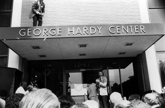 (29519) George Hardy Center Dedication, Los Angeles, California, 1980