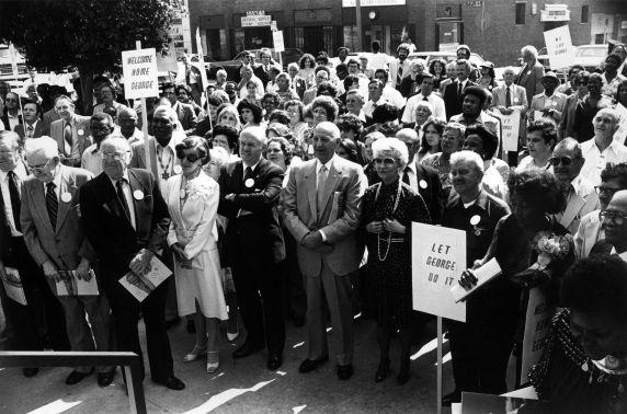 (29523) George Hardy Center Dedication, Los Angeles, California, 1980