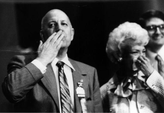 (29525) George Hardy, Cissy Hardy, SEIU International Convention, New York, New York, 1980