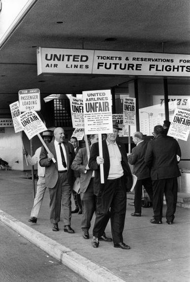(29532) George Hardy, United Airlines Boycott