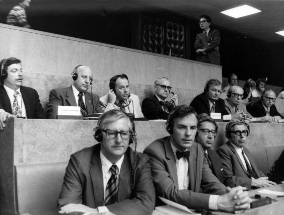 (29544) George Hardy, International Labor Organization, Geneva, Switzerland, 1973