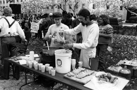 (29592) Justice For Janitors, World Bank, Demonstration, 1989