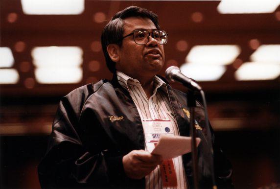 (29639) Eliseo Medina, SEIU International Convention, Las Vegas, Nevada, 1992
