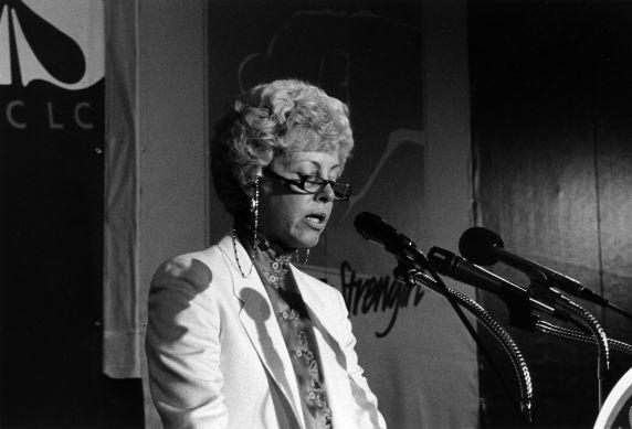 (29693) Betty Bednarczyk, SEIU International Convention, 1984