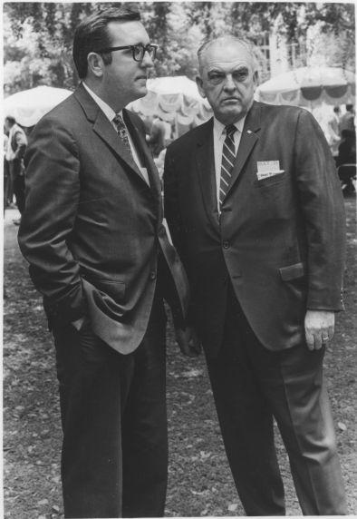 (29788) Al Tapson and Jim Ballard, AFT Local 1021 Rally