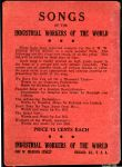 (30195) Industrial Workers of the World, Song Book, 1915