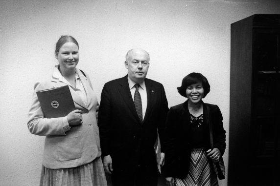 (30431) Kaiser Nurses, John Sweeney, SEIU RN Organizing Program, Washington, D.C., 1982