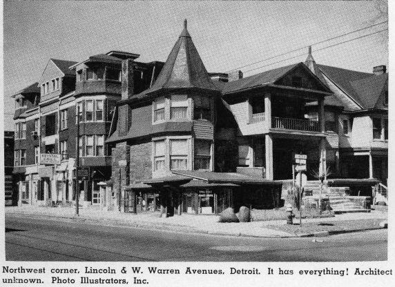 (30457) Urban Renewal, Wayne State University, University City, 1961