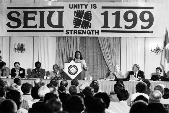 (30581) Coretta Scott King, SEIU / 1199 Healthcre Conference, 1981