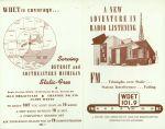 (30590) WDET FM Radio Flyer