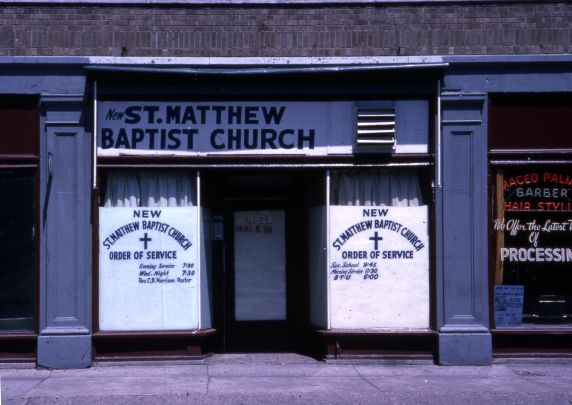 (30650) Urban Renewal, Black Bottom, Paradise Valley, Detroit, 1964