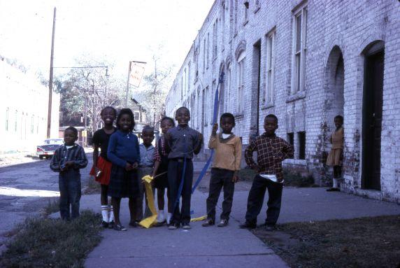 (30653) Urban Renewal, Black Bottom, Paradise Valley, Detroit, 1963
