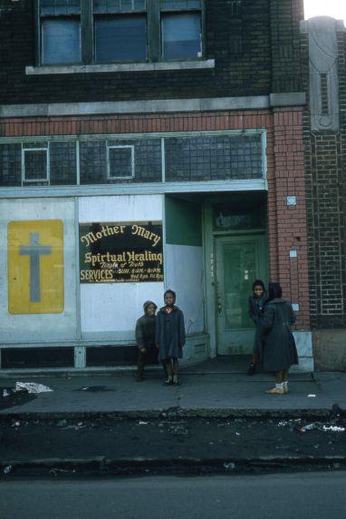 (30667) Urban Renewal, Black Bottom, Paradise Valley, Detroit, 1960s