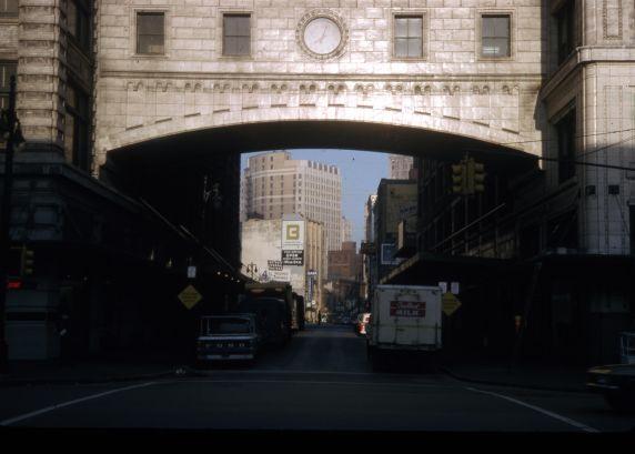 (30671) Architecture, Streetscapes, Downtown Detroit, 1965
