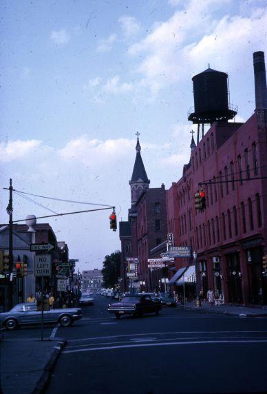 (30672) Streetscapes, Neighborhoods, Greektown, Detroit, 1966