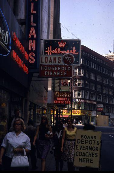 (30674) Streetscapes, Downtown Detroit, 1966