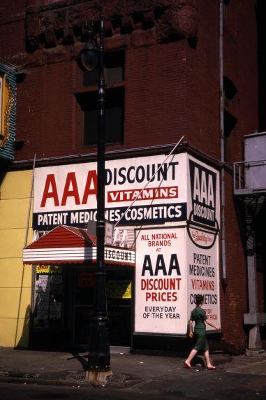(30721) Businesses, Downtown Detroit, 1966