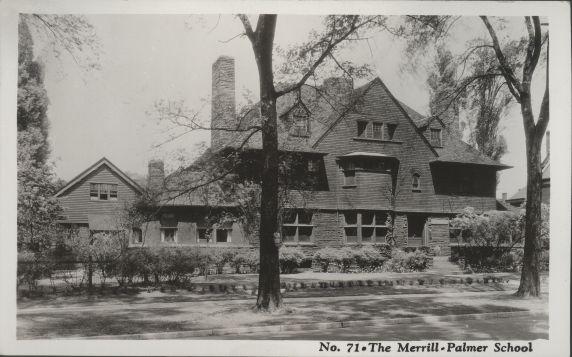 (30744) Merrill-Palmer Institute, Freer House, Detroit, Michigan, Circa 1920s