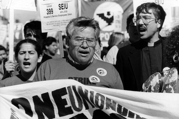 (30763) Eliseo Medina, SEIU Local 1877 Strike, 1997
