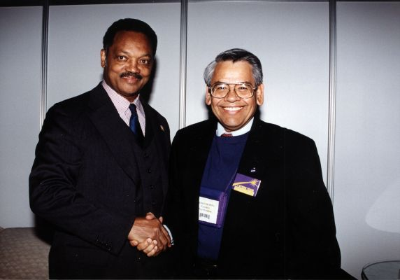 (30780) Jesse Jackson, Eliseo Medina, SEIU 22nd Convention, Pittsburgh, PA, 2000