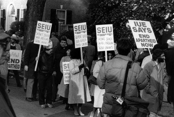(30854) South African Consulate Demonstration, Washington, D.C. 1984