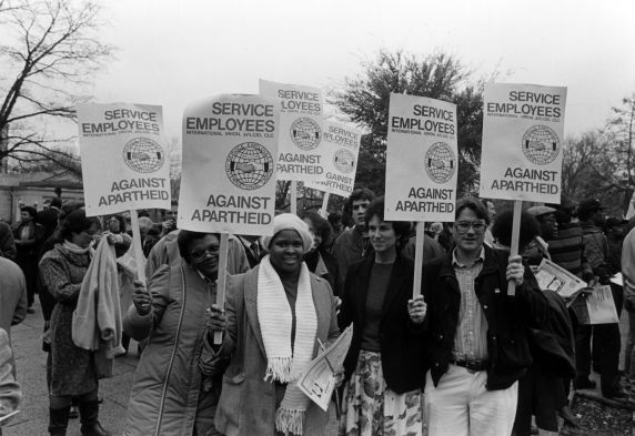 (30856) Service Employees Against Apartheid, Washington, D.C., 1985